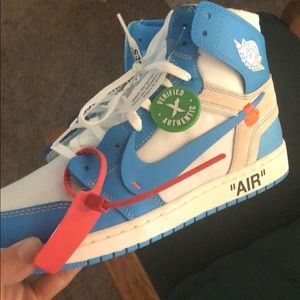 Other - Off white unc jordan 1's